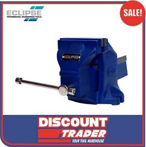 Eclipse EC-EWV100 Heavy Duty Workshop Bench Vice 100mm