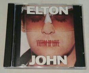 Victim of Love by Elton John (CD, 1990, MCA (US))