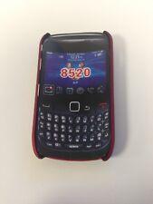 Blackberry Curve 8520 - Dark Red Cover Case