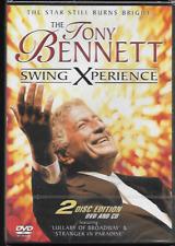 THE TONY BENNETT SWING EXPERIENCE (2-DISC) DVD + CD NEW/SEALED