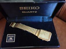 RARE SEIKO QUARZO OROLOGIO SVEGLIA 5C20-5000 in scatola da ottobre 1984 Time Warp V/G/C