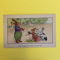 Easter Wishes Unposted Postcard
