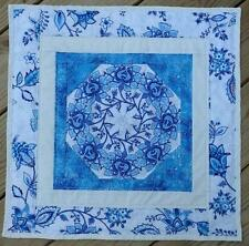 Kaleidoscope Table Topper Quilt Kit  pre cut block complete kit FREE SHIPPING