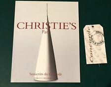 Catalogue De Vente Chez CHRISTIE'S Paris « Souvenirs Du Concorde » + étiquette