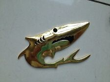 Car Sticker Golden Shark Auto Badge Emblem for Nissan Honda Audi BMW Hyundai Kia