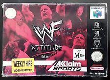 WWF Attitude - Nintendo 64
