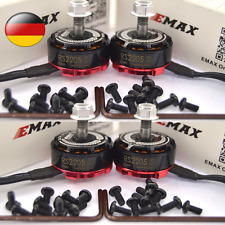 Emax RS2205S 2300KV Brushless Motor for FPV Racing Quadcopter 2 Pairs DE DHL!