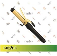 Silver Bullet Fastlane Gold Ionic Ceramic Curling Iron Wand Hair Curler 32 mm