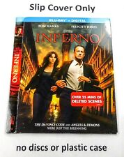 Inferno - Slip Cover Only - (no blu ray)
