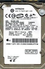Hitachi HTS543225L9SA02 P/N: 0A74215 MLC: DA2834 MAC 250GB APPLE
