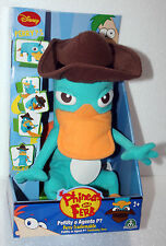 PHINEAS AND FERB PERRY PELUCHE PERRY O AGENTE P TRASFORMABILE NUOVO 470485