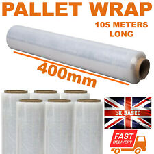 More details for strong roll clear pallet stretch shrink wrap cast parcel packing cling film