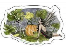 Nedda Halloween Pumpkin Fairy Sticker Decal Print Goth