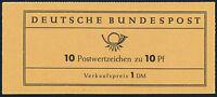 BUND 1960, MH 6 e R1, tadellos postfrisch, Mi. 35,-