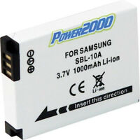 Vidpro SBL-10A Replacement 3.7v, 1000mAh Lithium Ion Battery for Samsung SLB-10A
