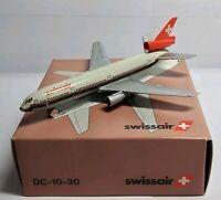 SCHABAK 1:600 SCALE DIECAST DC-10-30 SWISSAIR - 702/4