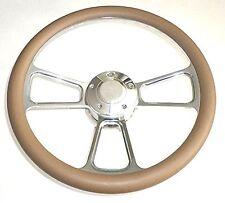"New World Motoring Kubota, Tomberlin Golf Cart 14"" Tan Steering Wheel Include..."