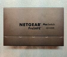 NETGEAR ProSAFE GS105PE 5-Port Gigabit PD-Powered/PoE Passthru Smart Switch