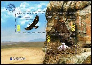 KAZAKHSTAN 2019-18 EUROPA: National Birds. Golden Eagle, MNH