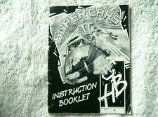 72625 Instruction Booklet - Super Cars II - Atari ST ()