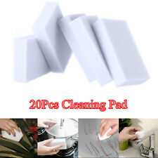 20x Multi-function Cleaning Magic Sponge Eraser Melamine Home Cleaner Pad Foam