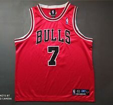 CHICAGO BULLS Jersey BEN GORDON #7 Authentic Reebok Double Stitched NBA Retro XL