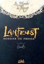 EO ARLESTON TARQUIN LANFEUST N° 6 LE RÂLE DU FLIBUSTIER DOSSIER DE PRESSE + DVD