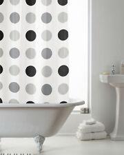 Rideaux de douche gris pour salle de bain