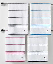 Tommy Hilfiger Home All American II Cotton Stripe Bath Towel, Swedish blue - 1pc