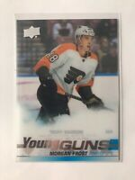 2019-20 Series 2 Clear Cut Young Guns #469 Morgan Frost - Philadelphia Flyers
