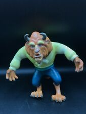 Vintage Rubber Beast Toy - From Beauty & The Beast Disney
