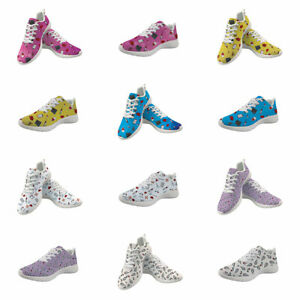 Medical Care Women Sneakers Athletic Walking Lace Up Shoes Sports Sneaker Casual