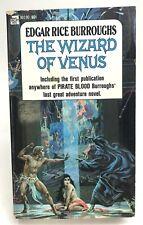 THE WIZARD OF VENUS Edgar Rice Burroughs ACE 90190 Adventure 1ST Sci Fi GGA