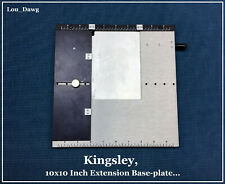 Kingsley Machine ( 10 x10 Inch Extension Base-plate ) Hot Foil Stamping Machine