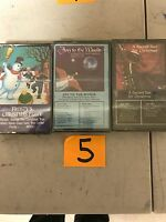 (3) NEW SEALED Assorted Christmas Music Cassette Tapes  (G) (5)
