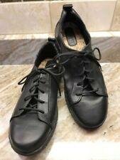 BORN Kester Black Leather Oxford Shoes Sneakers US Sz 7 / Euro 38