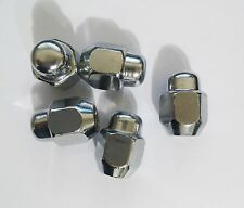 OEM Kia / Hyundai  OEM Wheel   Chrome Lug NUTS  5 pieces  52950-M1000