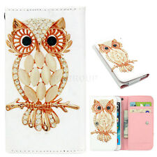 For Sony Xperia C5/Z5/X/XA/M5 Phones Cute PU Leather Wallet Pouch Bag Case Cover