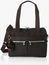 Kipling Klara Black One Size Satchel Travel Handbag Crossbody Shoulder Bag