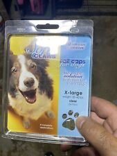 Soft Claws Canine Nail Caps - 40 Nail Caps Adhesive Dogs Xlarge New In Pkg