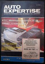 AUTO EXPERTISE n°129; S.R.A/ VW Passat/ Audi 80 7/87 / 305/ Lada Niva Samara