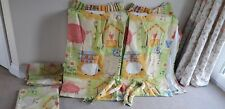 NURSERY black out curtains plus spare material Hand Made