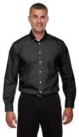 Devon & Jones Men's Tall Classic Fit Broadcloth Comfort Solid Dress Shirt. D620T