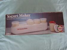VINTAGE SALTON YOGURT MAKER GM-5W-1987 SALTON-WHITE