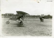 Avion biplace militaire Vintage silver Print Tirage argentique  13x18  Cir