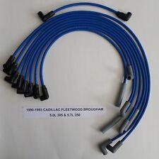 CADILLAC FLEETWOOD 1990-1993 5.0L/305  5.7L/350 BLUE HI-PERFORM Spark Plug Wires