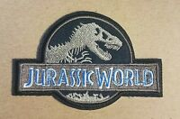 Jurassic World Logo Costume Patch 4 inches wide style B