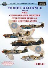 Modello ALLEANZA Decalcomanie 1/48 combattenti del Commonwealth SECONDA GUERRA MONDIALE sopra il Nord Africa 48195