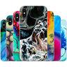 Dessana Astratto Mineral Silicone Protezione Custodia Cellulare Borsa per Apple