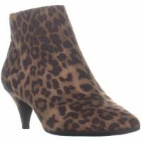 Sam Edelman Womens Kirby Fabric Pointed Toe Ankle Fashion, Brown/Black, Size 6.0